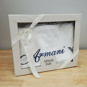 Armani Baby Blanket x Holt Renfrew Collaboration